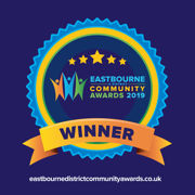 EASTBOURNE COMMUNITY AWARDS WINNER